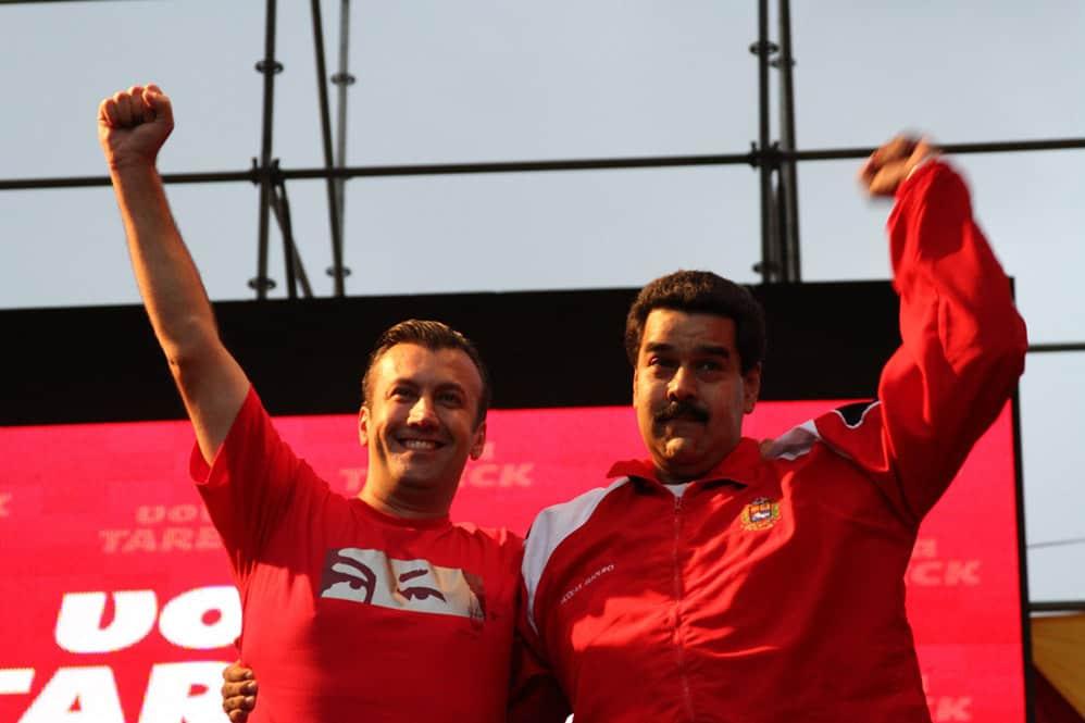 Тарек и Мадуро
