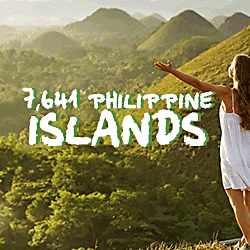 Philippines 7641 islands