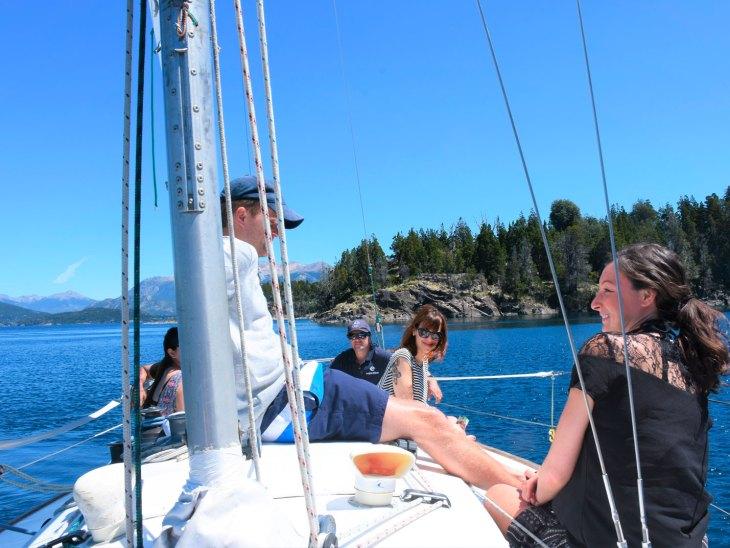 Veleiro El Orgulloso - Bariloche - lago Nahuel Huapi