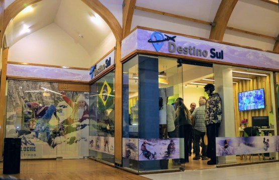 550ec9f79f16c A agência Destino Sul, onde recebemos os nossos passageiros, está  localizada na Galería del Sol, na Rua Mitre 340, loja 54 (andar superior)