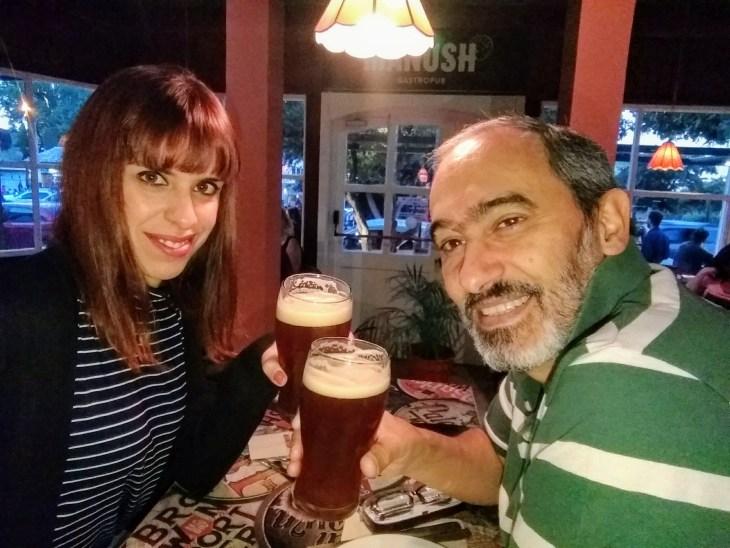 Cerveja artesanal em Bariloche