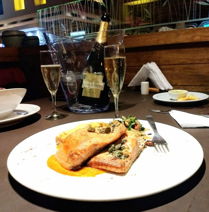 Trucha del Nahuel do restaurante Kostelo