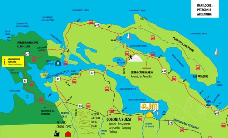 Circuito Chico - mapa