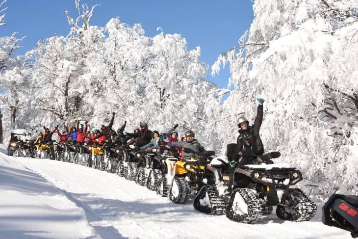 Circuito de Quadriciclos do Centro de Ski Nórdico.