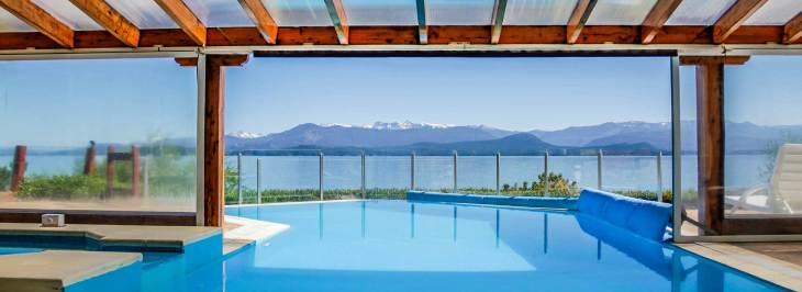 Hotel em Bariloche com piscina