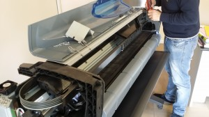 plotter hp dj Z6100 assistenza Roma 06-98353210