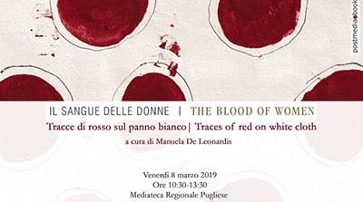 """8 marzo, """"il sangue delle donne"""" nelle opere di 68 artiste"""