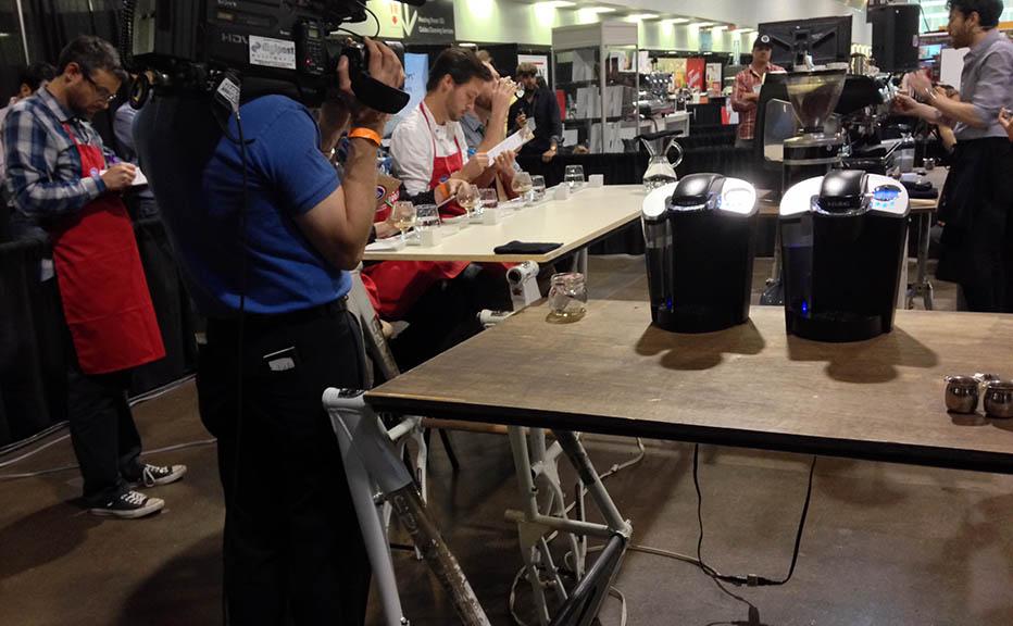 Espresso competition tables