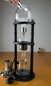 ice drip coffee machine a cafe reunion