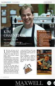 Barista Kim Ossenblok en Revista Maxwell Mexico