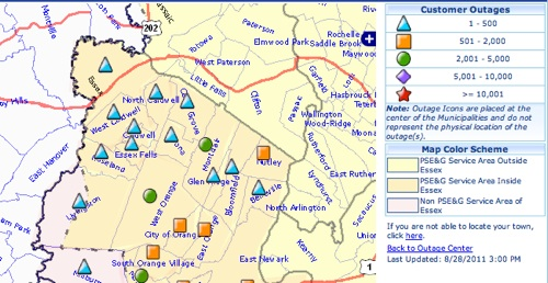 Blue Ridge Power Outage Map