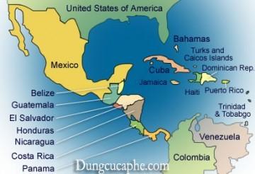 Các khu vực trồng cà phê ở Châu Mỹ