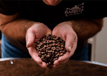 Kaffeerösterei Barista vom Berg