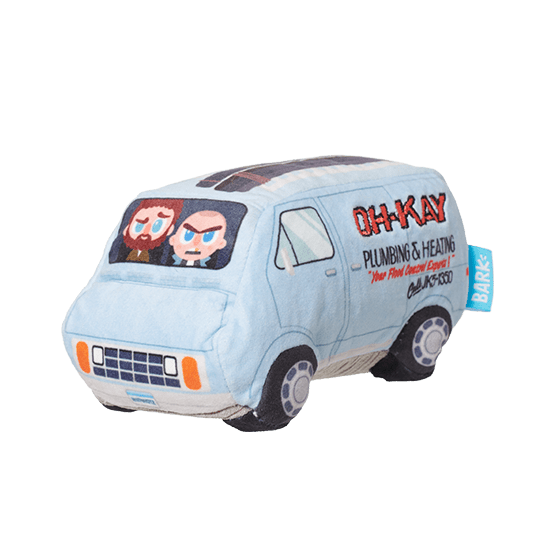 Photograph of BarkBox's Oh-Kay Van product