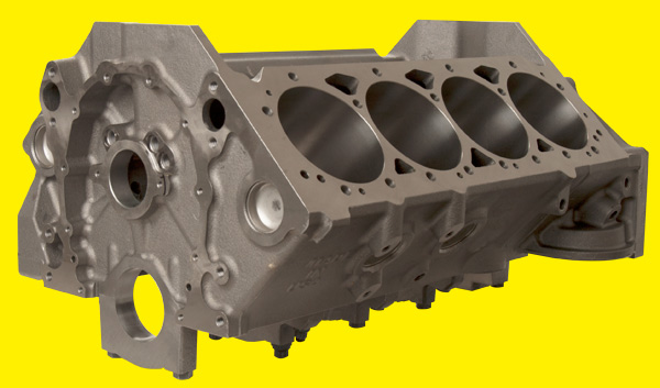 Brodix SBC cast iron Block