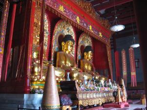 3 Buddhas at Baolin Temple