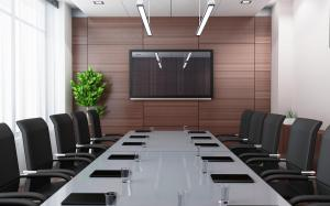 Modern conference room (done in 3d)
