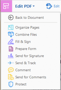 Get back to your PDF