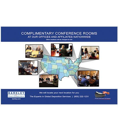 Complimentary Conference Rooms