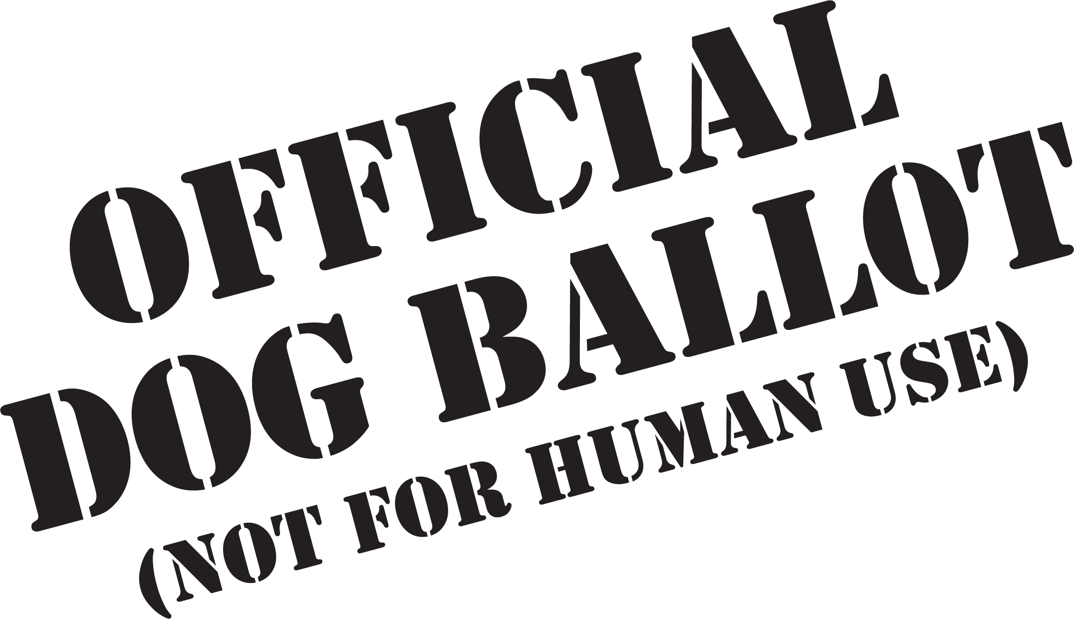 Bark The Vote Your Dog S Bark Counts Official