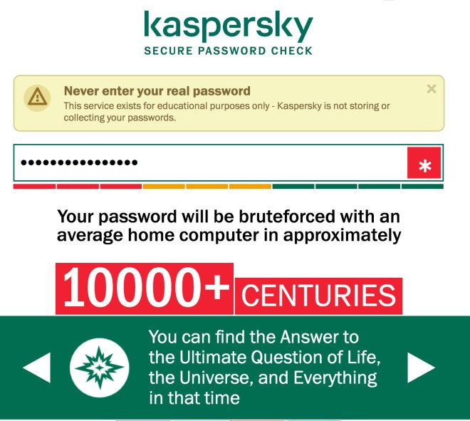 Mixing the letters alternately of password and facebook would need 10000+ centuries to crack on a standard computer