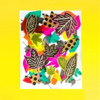 Make: A Mixed Media Leaf Art Collage from Photocopies