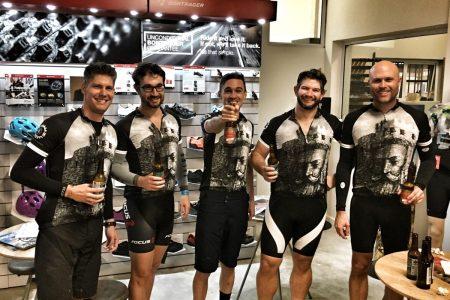 Devil's Peak Blockhouse Beer Ride Group