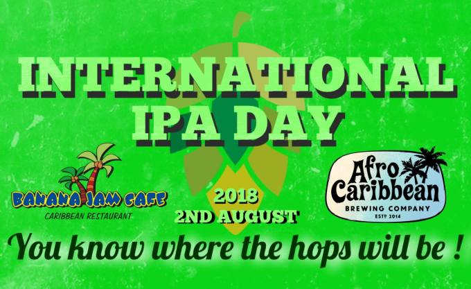 Afro Caribbean Brewing Co IPA Day