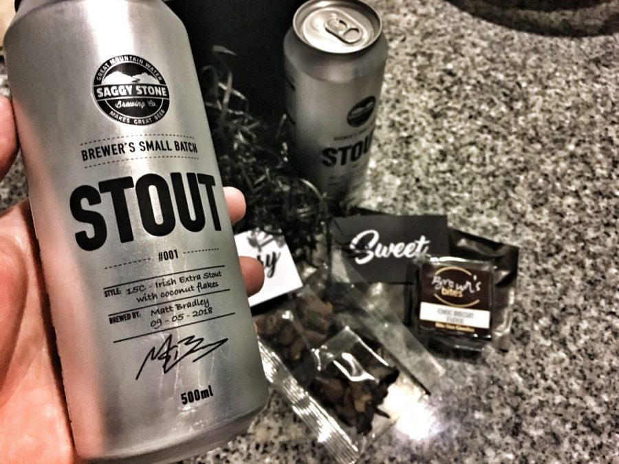 Saggy Stone Brewer's Small Batch Stout 00