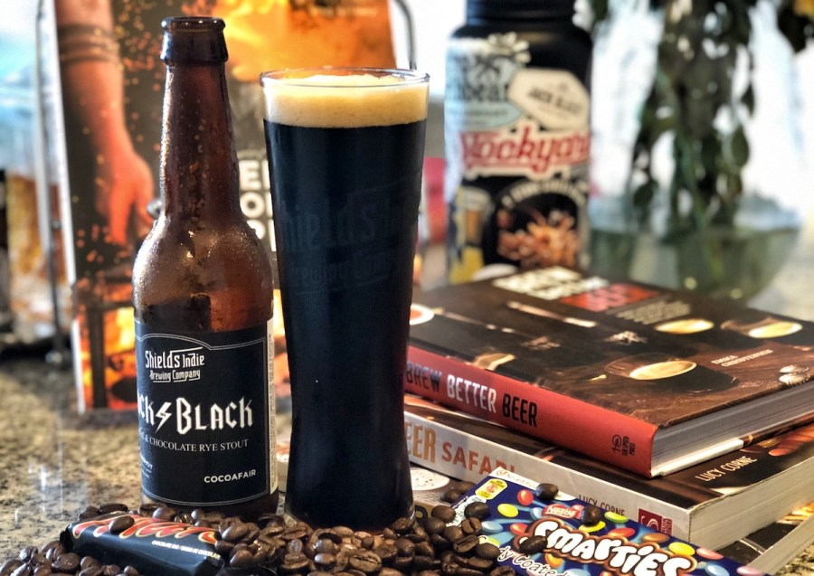 Shields Indie Brewing Co Back to Black Stout
