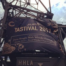 Jura Tastival 2017 in Hamburg (Single Malt Scotch Whisky Distillery Fest Tasting Food Pairing)