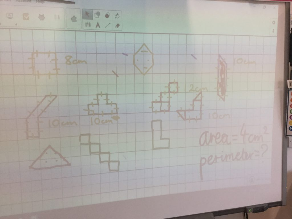 Calculating Area And Perimeter