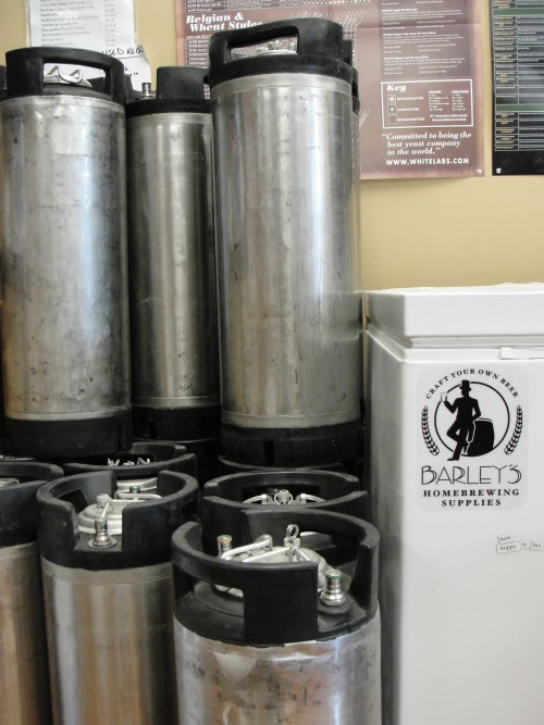 Used Ball Lock Corny Kegs