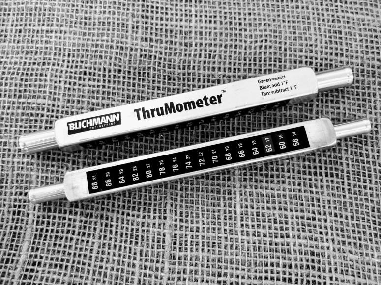 Thrumometer