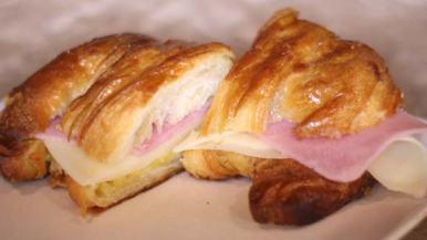 Croissant mixto.