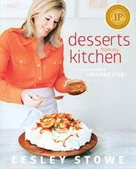 Desserts from my Kitchen - Book cover with IPPY Award