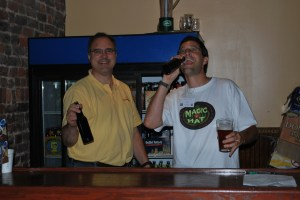 Dominion Cup 2009 - Tom and *** as the Cellarmen