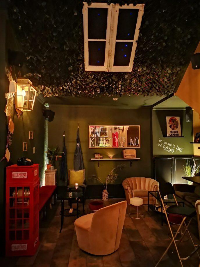 Interior Café Klandestino