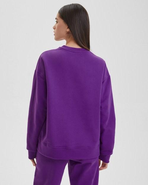 Свитшот женский «Туманность Лагуна» фиолетовый