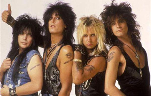 moda rock anos 80