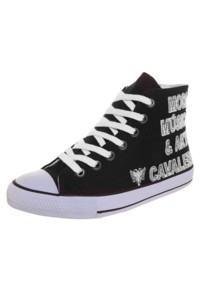 sneaker preto cavalera