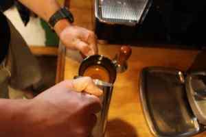 espresso Coffee at the marahau store