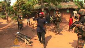 Central African Republic- Muslims Seek Refuge in Church January 2014