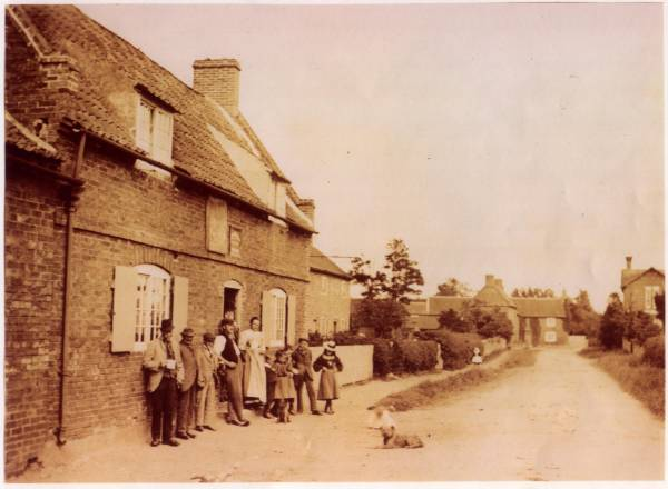Front Street in Barnby in the Willows 1890