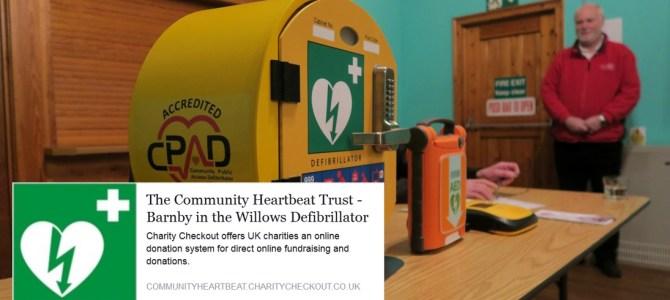 UPDATED: Village Defibrillator moves a step closer