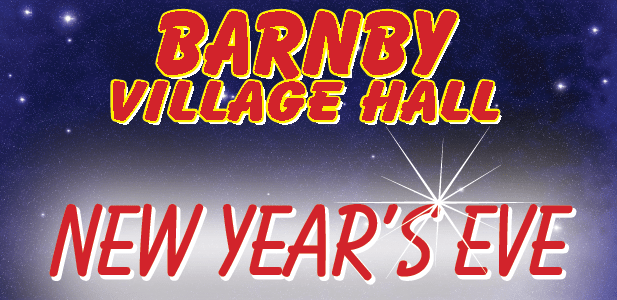 Village Hall Party – New Year's Eve – Tickets £3 (proceeds to village hall)