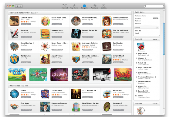 køb alle dine spil til mac nu på mac app store
