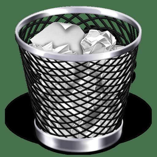 papirkurv problemer