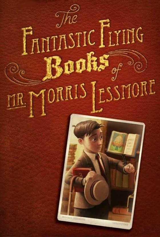 the fantastic flying books of mr morris lessmore cover poster