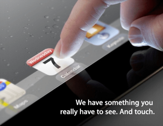 apple touch screen